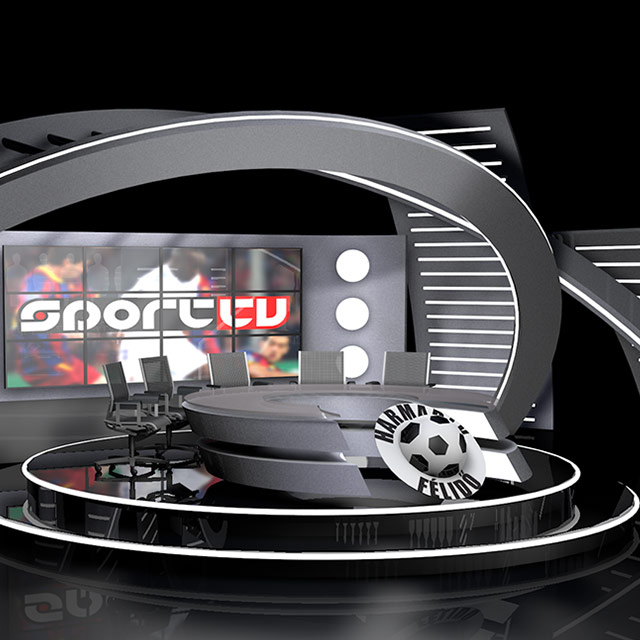 Set design Sport TV
